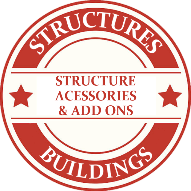 ON30 Buildings & Structures Accessories And Add Ons Model Trains
