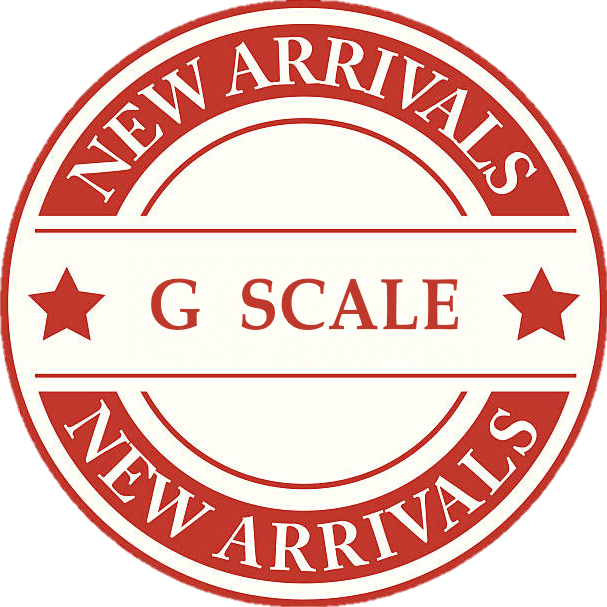 New Product Arrivals For G Scale Model Trains