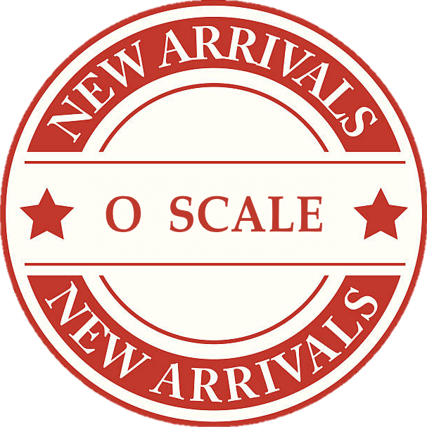 New Product Arrivals For O Scale Model Trains