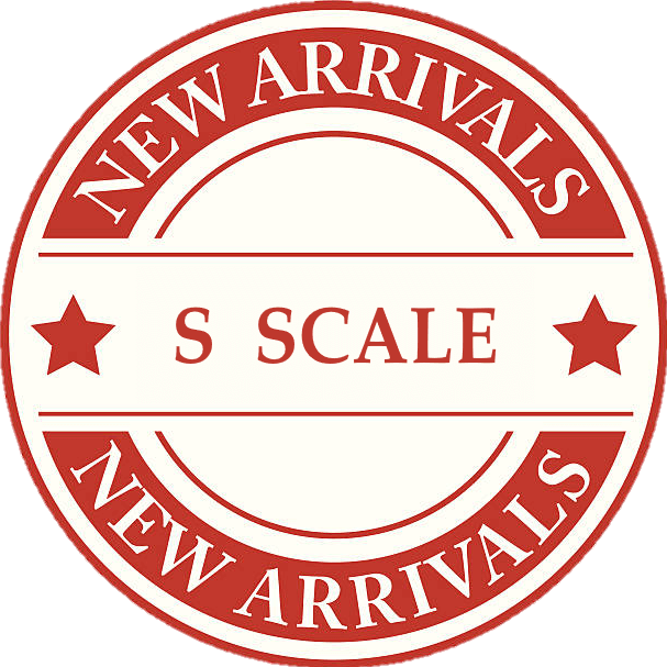 New Product Arrivals For S Scale Model Trains