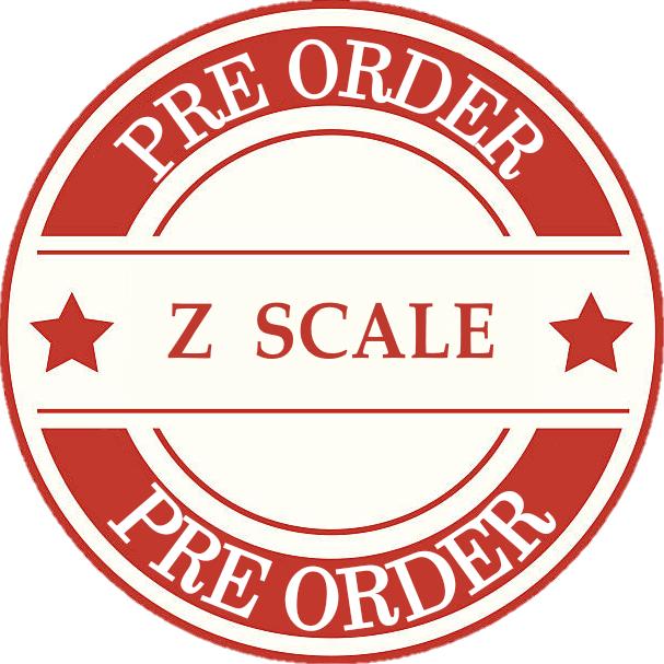 Model Train Z Scale Pre Orders