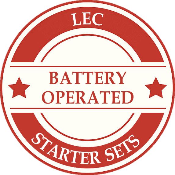LEC Battery Model Train Sets