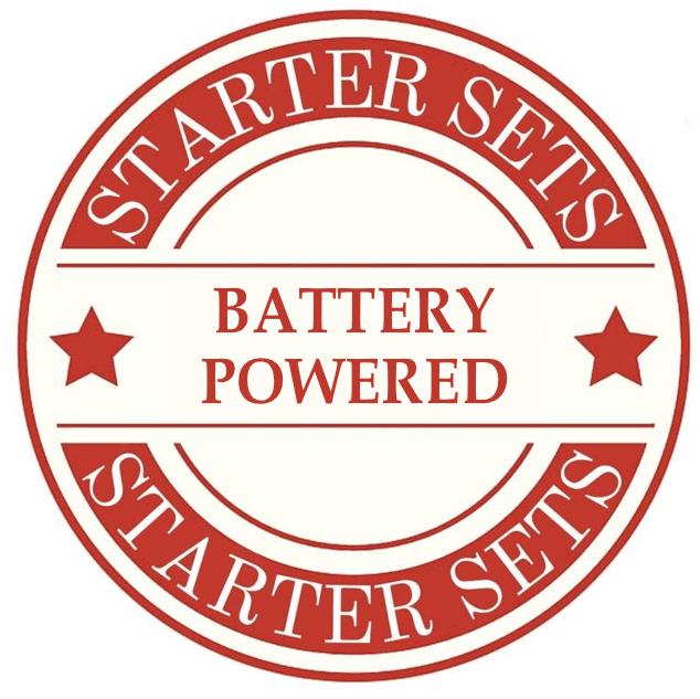 Battery Model Train Sets