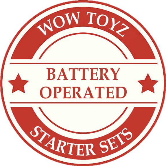 Wow Toyz Battery Model Train Sets