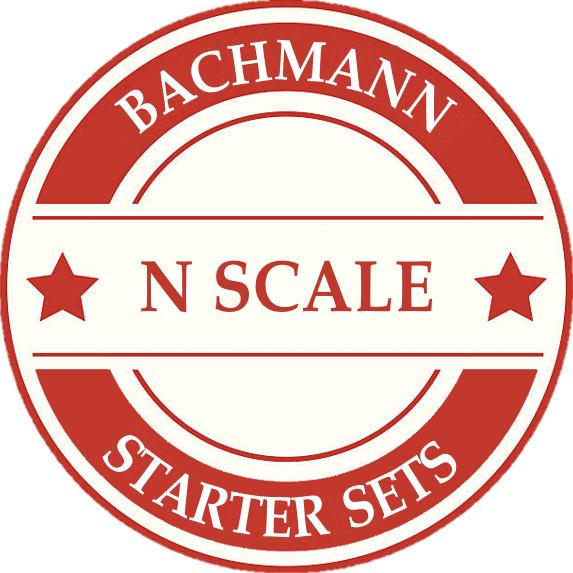 Bachmann N Scale Model Train Sets
