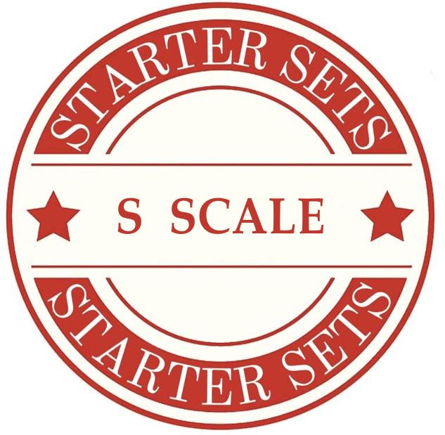 S Scale Model Train Sets