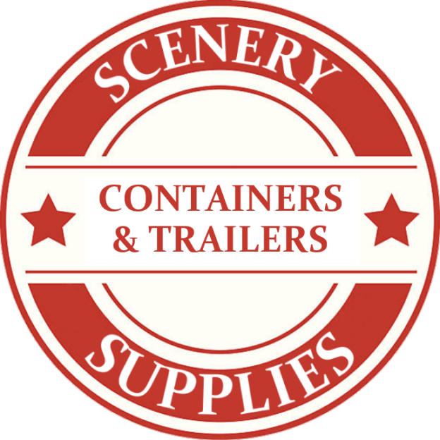Z Scale Containers & Trailers Model Trains