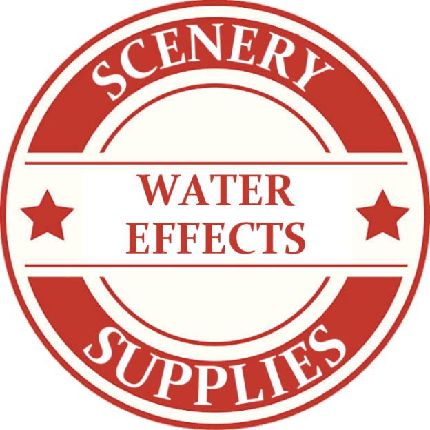 O Scale Scenery Water Effects Model Trains