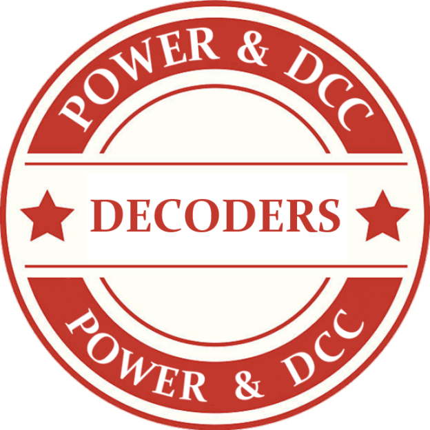 G Scale Decoders Model Trains