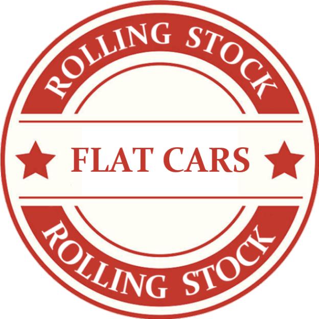 HO Scale Flat Car Model Trains