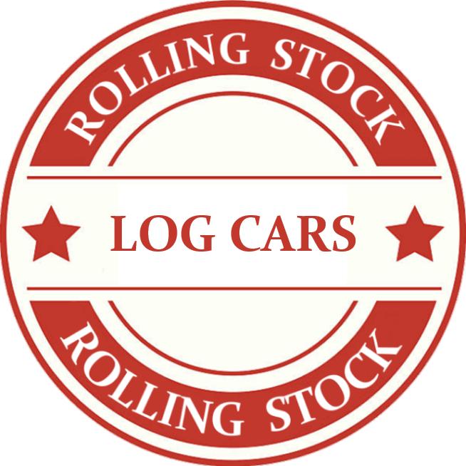 HO Scale Log Car Model Trains