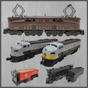PostWar Vintage Trains | Model Trains