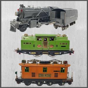 PreWar Tinplate Vintage Trains   Model Trains