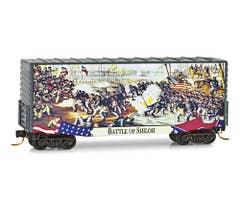Micro-Trains #10100704 40' Hy-Cube Box Car, Smithsonian Civil War Series #4 Battle of Shiloh