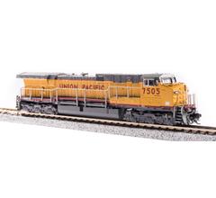 Broadway Limited #6280 GE AC6000 UP #7505 Yellow & Gray Scheme Paragon3 Sound/DC/DCC