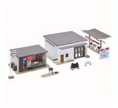 Model Power #791 Mikes Gas Auto Supply & Wash Built Up
