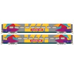 Rapido #108054 LRC Business: Canada 150 wrap #3476