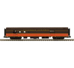MTH #20-64162 70' Streamlined RPO Passenger Car (Smooth Sided) - Illinois Central