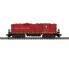MTH #20-21521-1 GP-9 Diesel Engine With Proto-Sound 3.0 - Norfolk & Western (Redbird) Cab No. 521