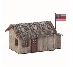 Model Power #640 Log Cabin - Built Up