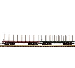 PIKO #38770 Pennsylvania Railroad (PRR) Flatcar 2-Pack
