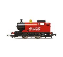 Hornby #R3955 Coca-Cola 0-4-0T Steam Engine