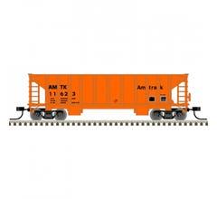 Atlas #50005475 41' Ballast Hopper - Amtrak #11665