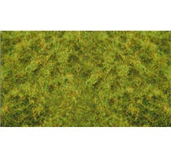 "Bachmann #31011 Pull-Apart 2mm Static Grass - Light Green (one 11"" X 5.5"" sheet)"
