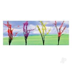 """JTT #95546 FLOWER BUSHES 1""""-1.5"""" 32/pk"""