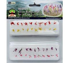 JTT #95545 Flower Bushes .5-.75' 40/Pk