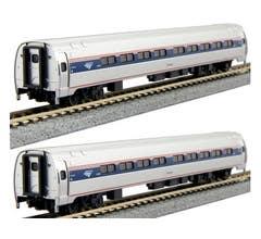 Kato #106-8002 Amfleet I Phase VI 2-Car Set A