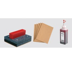 Piko #35411 Track Cleaning Set - Block, Pads, Fluid