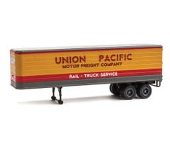 Walthers #949-2427 35' Fluted-Side Trailer 2-Pack - UP