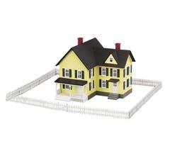 MTH #30-50002 White Fence Set