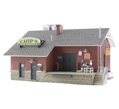Woodland Scenics BR5028 Chip's Ice House (Built-Up)