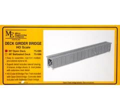 Micro Engineering HO #75-505 85' Open Deck Girder Bridge Kit