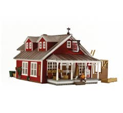Woodland Scenics BR5031 Country Store Expansion HO Scale (BUILT UP)