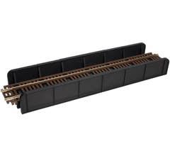 Atlas #70000027 Code 83 Through Plate Girder Bridge - Single Track - Kit