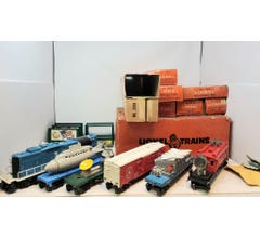 Lionel #LIO2572 Space Freight Set With Original Boxes 2572