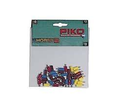 PIKO #55771 Mini Plugs 32 Pcs & Sockets 8 Pcs (Replacement for G scale lighting plugs)