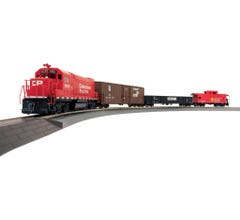 Walthers #931-1211 Flyer Express Fast-Freight Train Set - Canadian Pacific