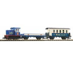 """Piko #37154 Circus """"Roncalli"""" R/C (Battery) Freight Train Starter Set"""