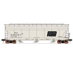 InterMountain #47096 ACF 4650Cu Hopper - Penn Central