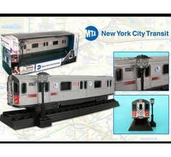 Daron #RT8555 HO NYC MTA Diecast Subway Car