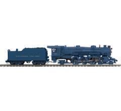 MTH #20-3815-1 4-6-2 USRA Heavy Pacific Steam Engine w/Proto-Sound 3.0 - Baltimore & Ohio (Blue w/P47 Tender) Cab # 5307