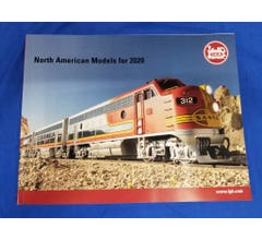 LGB #LGBUSA2020 Barcode #128853 2020 North American Models Catalog