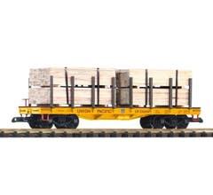 PIKO #38757 UP Flatcar w/Lumber Load