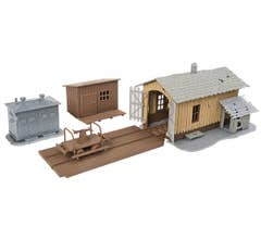 Walthers #931-909 Trackside Tool Buildings -- Kit