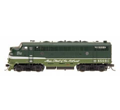 Intermountain #69233DS EMD F7A Locomotive w/DCC & Sound - Northern Pacific - Loewy