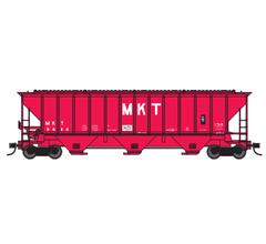 Trainworx #24472-01 PS4427 Covered Hopper - MKT